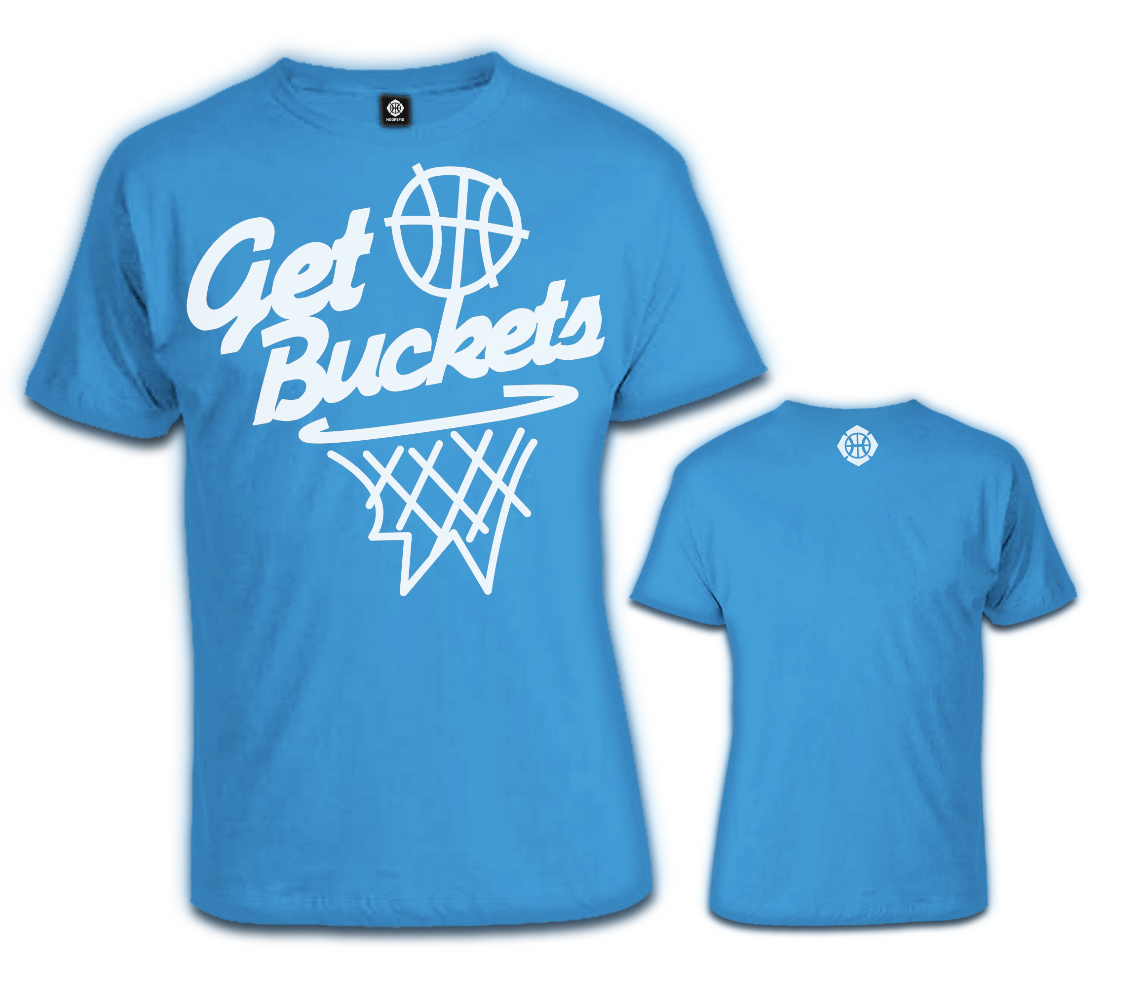 Hoopsfix - Get Buckets T-Shirt